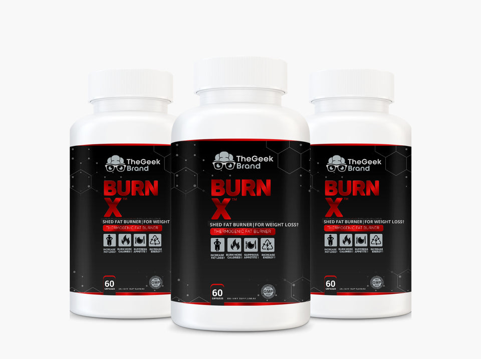 BURN X - THERMOGENIC FAT BURNER (6 Bottles)