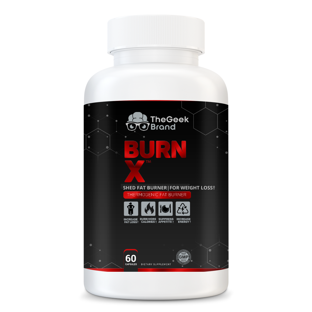 BURN X - THERMOGENIC FAT BURNER