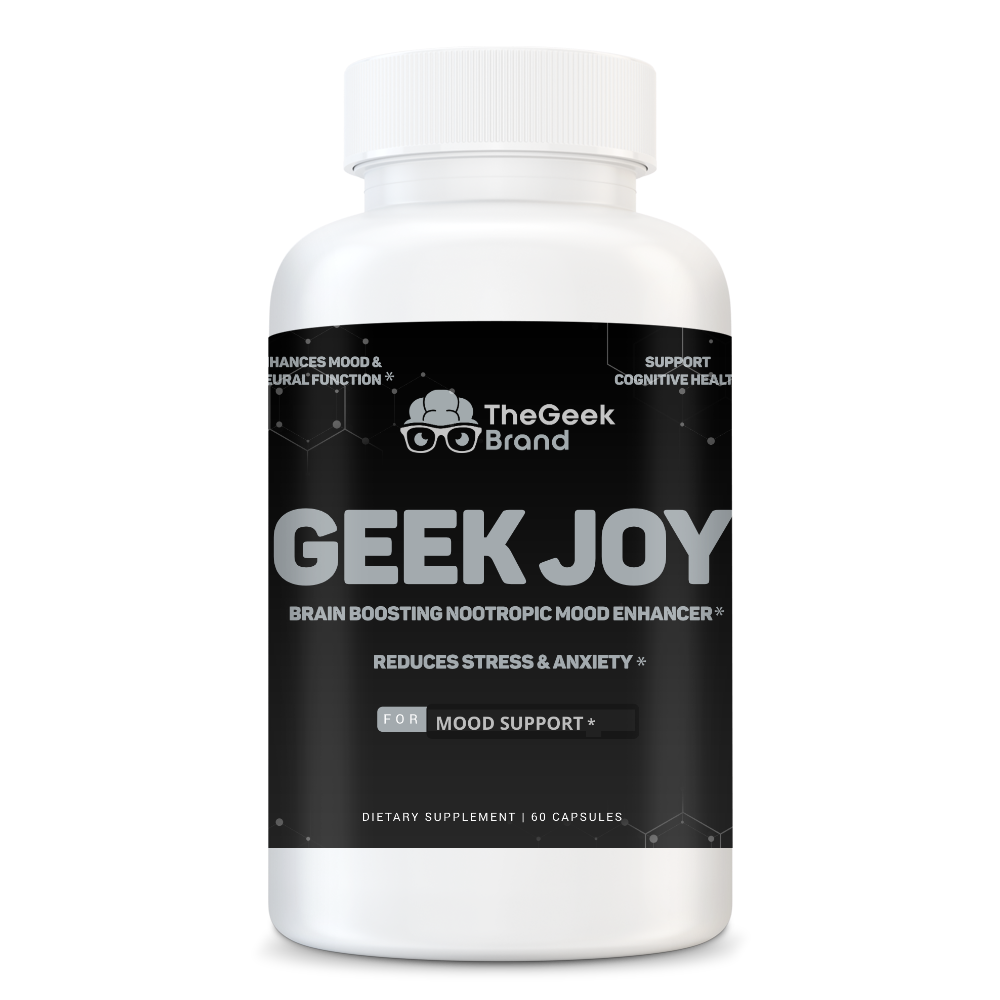 GEEK JOY - REDUCES STRESS & ANXIETY