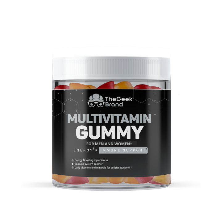 MULTIVITAMIN GUMMY - INCREASES ENERGY + SUPPORTS IMMUNE SYSTEM