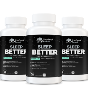 SLEEP BETTER - DEEP SLEEP + BRAIN RECHARGE