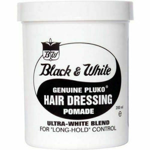 Black and White Hair Pomade