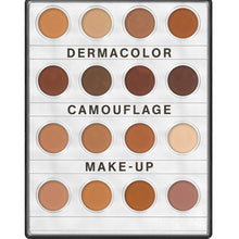 Load image into Gallery viewer, Kryolan Dermacolour Camouflage Creme Mini-Palette - 16 Colours