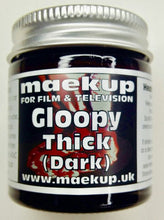 Load image into Gallery viewer, Maekup classic thick, Gloopy blood, perfect for smears on costumes, filling of wounds or just application straight onto the skin.  500g.
