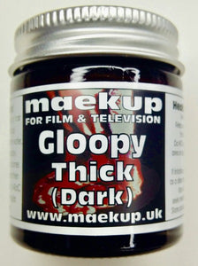 Maekup classic thick, Gloopy blood, perfect for smears on costumes, filling of wounds or just application straight onto the skin.  500g.
