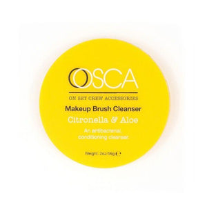 A fresh cleanser.  Citronella is an antibacterial treatment for over clogged sponges & brushes combined with conditioning Aloe.  Recommended for smaller brushes: Lip, eyebrow and eye shadow, but a good all round brush cleanser.