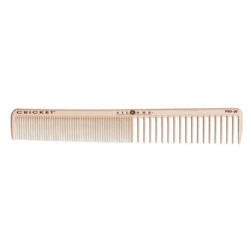 Pro20 all purpose cutting comb.  The perfect all round cutting comb with two distinct tooth patterns.  Provides even distribution for zero tension cutting techniques.