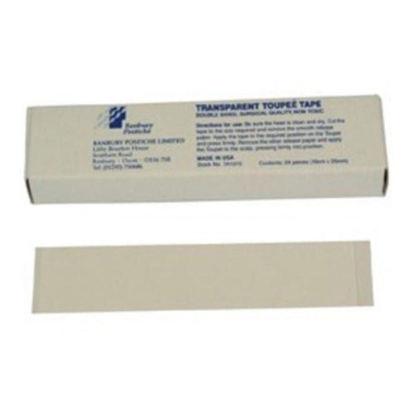 Banbury Postiche Transparent Tape Strips (100x12mm) x 24