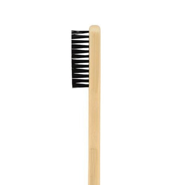 This brush was designed to perfectly create a spray and/or splatter of colour to emulate the natural look of skin. Thumb or finger fits nicely on bristles to create the splatter effect. This brush is also great for carefully brushing in hair whiteners and streaks in moustaches.