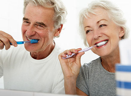 The health benefits of tooth brushing