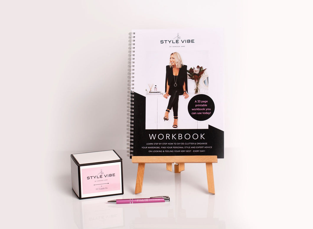 A DIY Workbook Stylish Luxury Pack (hard copy)