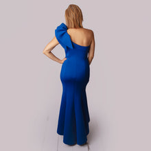 Load image into Gallery viewer, Eliza J One Shoulder Gown
