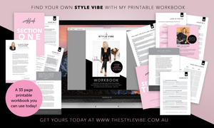 A little book of Style! The Style Vibe Workbook (eBook)