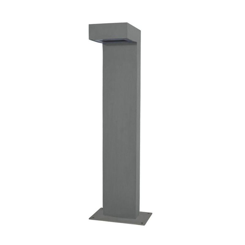Contemporary Concrete Garden Bollard | Concrete Garden Lights