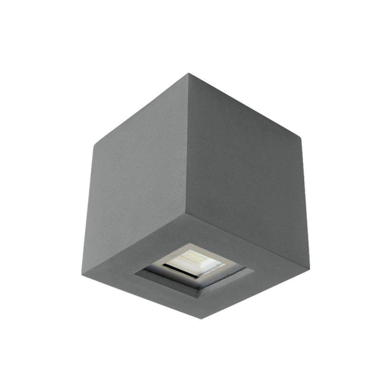Exterior Modern Concrete Ceiling Light | Modern Outdoor Ceiling Lighting