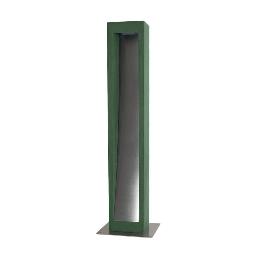 Modern Industrial Concrete Bollard | Concrete Bollard Suppliers | Exterior Floor Light | Steel