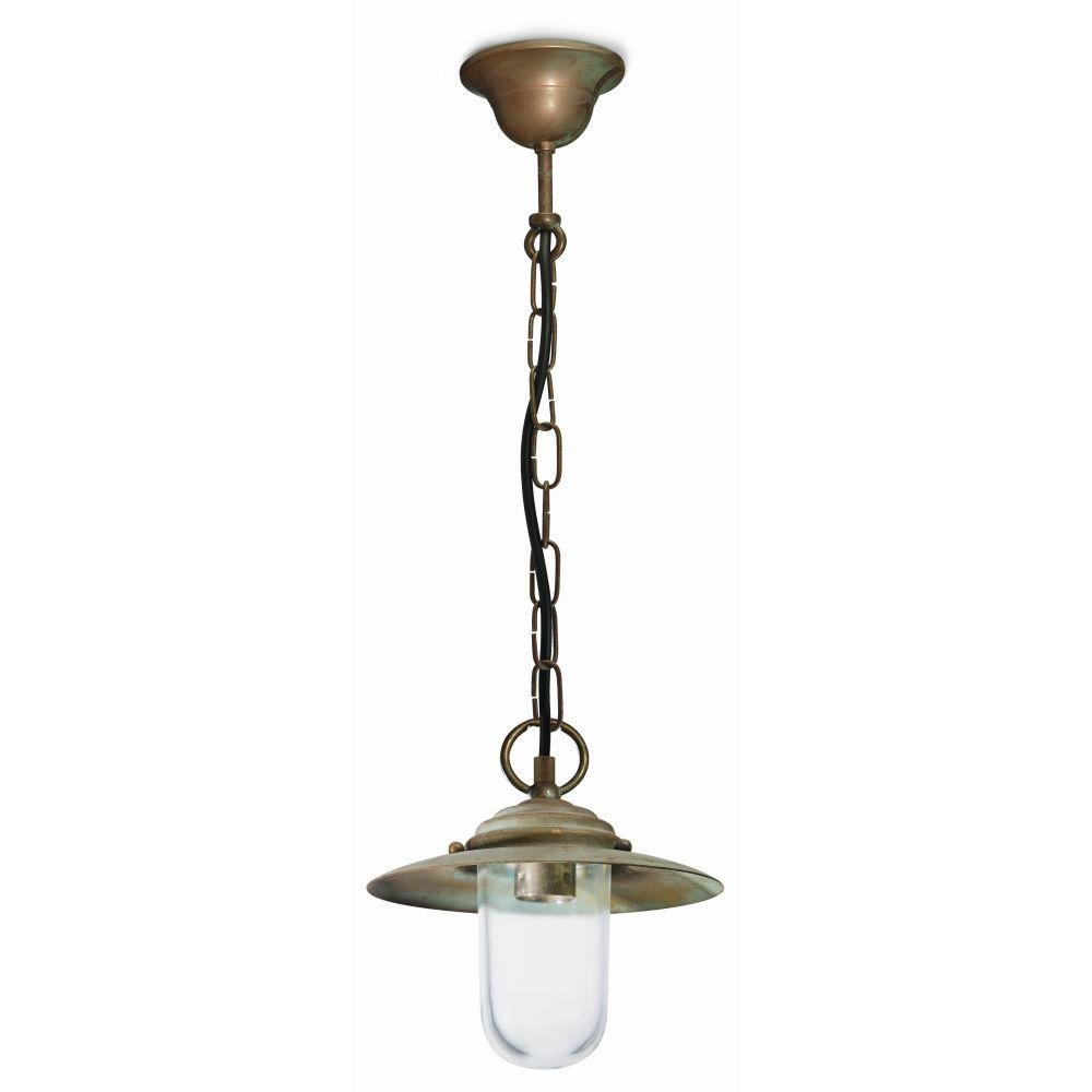 Modern Metal Outdoors Shaded Ceiling Pendant | luxury Italian brass suspended lights UK | small medium large | e27 led