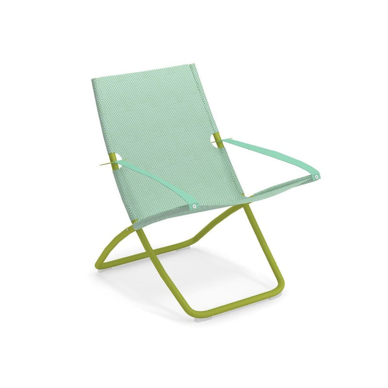 Colourful Fabric Garden Deck Chair | high end bright coloured garden chairs | grey pink blue | aluminium
