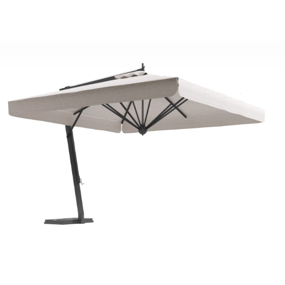 Luxury External Side Leg Umbrella | Luxury Commercial Parasol | High End Parasol | Side Arm Parasol | Luxury Quality