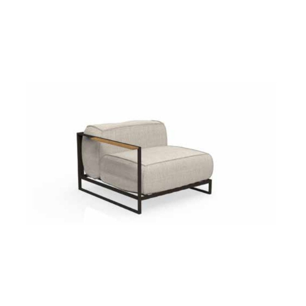 Sleek Modern End Seat | Left Side Corner Seat | Right Side End Seat | Luxury Furniture | Luxury Seating | High End Quality
