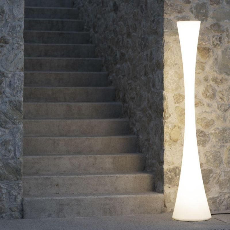 High End Outdoor Modern Floor Light | Luxury Curved Floor Light | Unique Outdoor Floor Light | Luxury Quality
