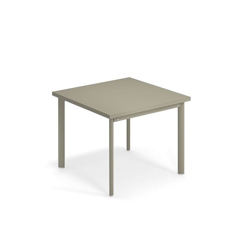 Simple Square Exterior Coffee Table | Square Outdoor Side Table