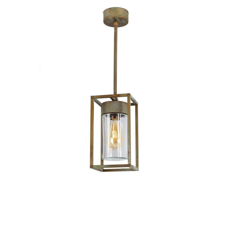Farmhouse Style Metal Ceiling Pendant | urban retro ceiling light for sale | luxury Italian lighting UK | brass nickel black white