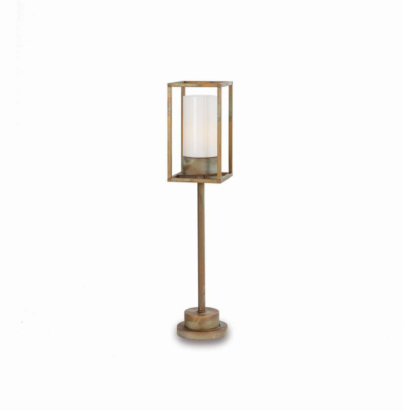 Urban Metal Garden Floor Light | garden metal retro floor lamp for sale | high end Italian lighting UK | brass nickel black white