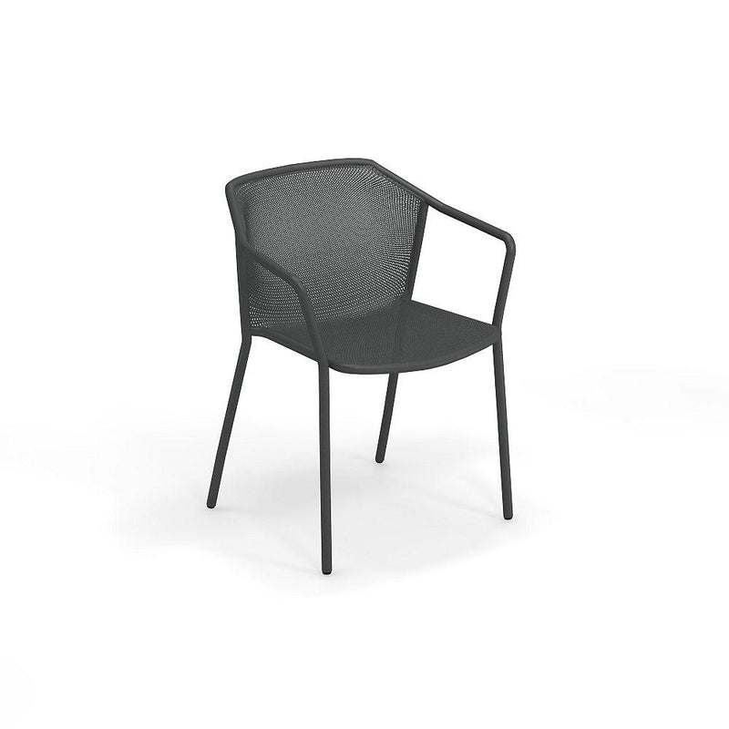 Minimal Steel Mesh Garden Dining Chair