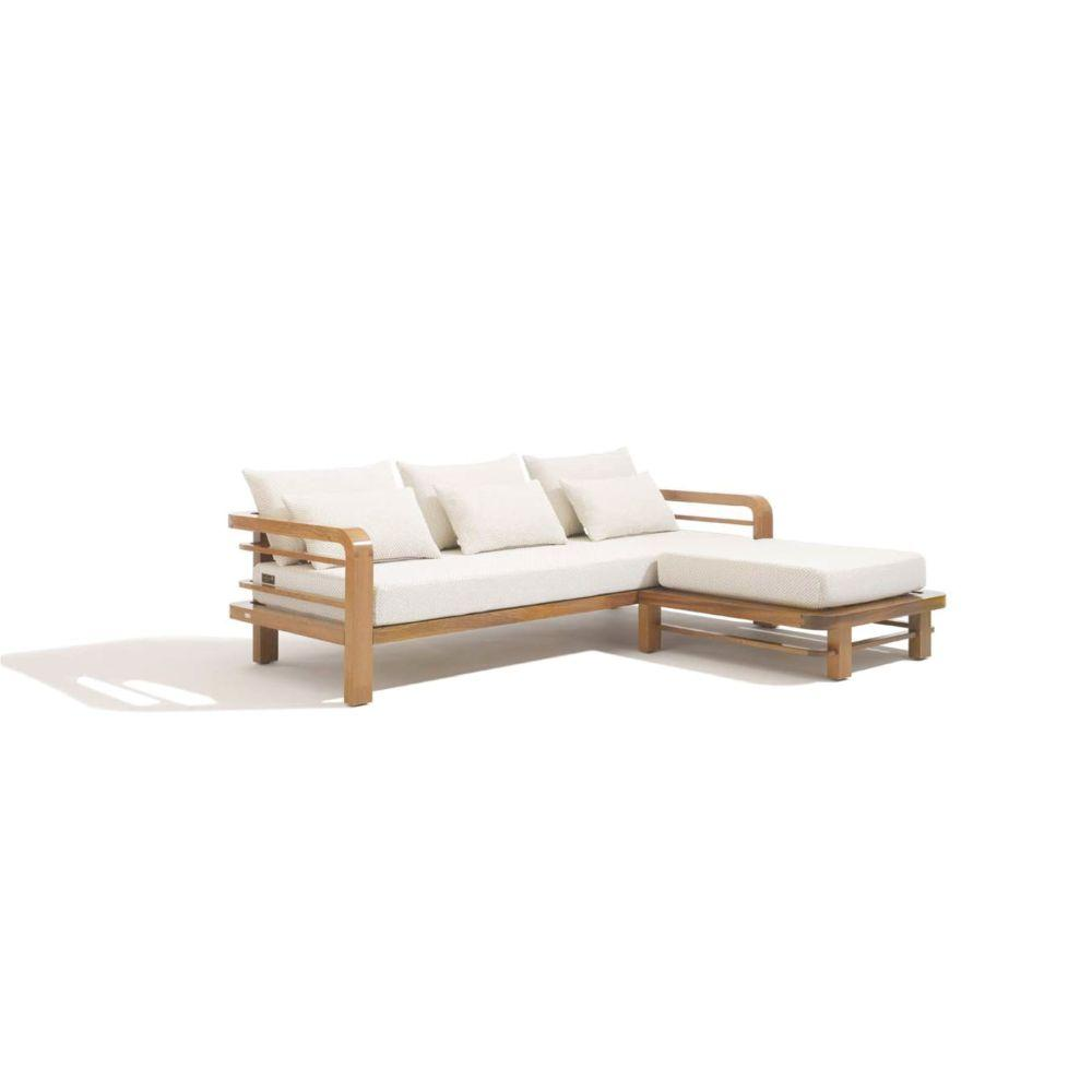 Exterior Luxury Triple Sofa | Luxury Outdoor Sofa | Outdoor Triple Sofa | Luxury Quality | High End Sofa | Teak Mahogany Sofa