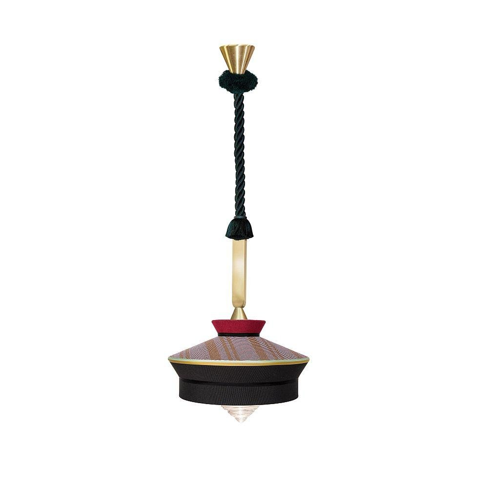 Decorative Exterior Ceiling Pendant | Black Yellow White Luxury Coloured Pendant Lights UK