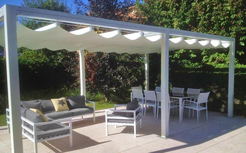 Custom Exterior Living Pergola | high end standard sized modern pergolaCustom Exterior Living Pergola | high end standard sized modern pergola