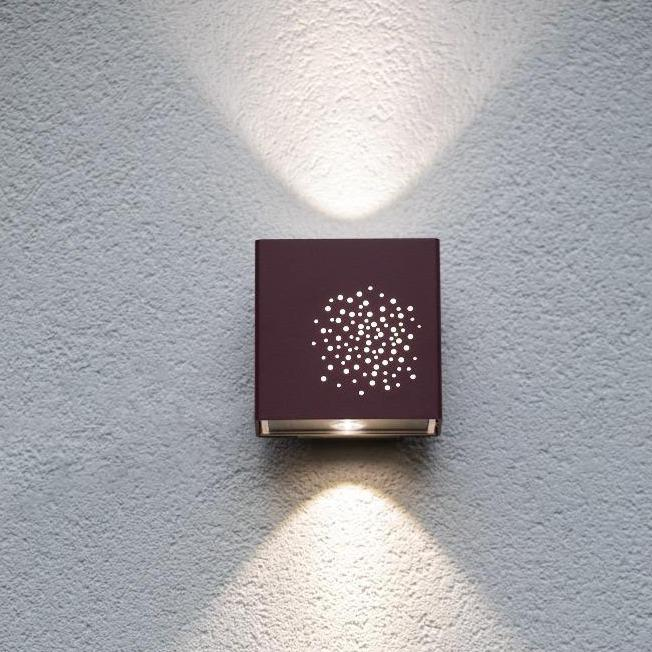 Exterior Square Wall Light | Customisable Modern High End Outdoor Lighting 12.5cm Made in FranceExterior Square Wall Light | Customisable Modern High End Outdoor Lighting 12.5cm Made in France