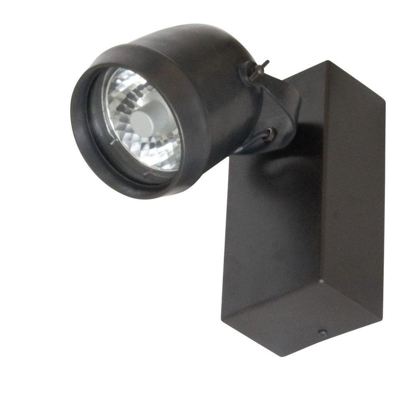 Simple Wall Mounted Power Projector On Box | simple garden light projectors UK | bronze nickel chrome