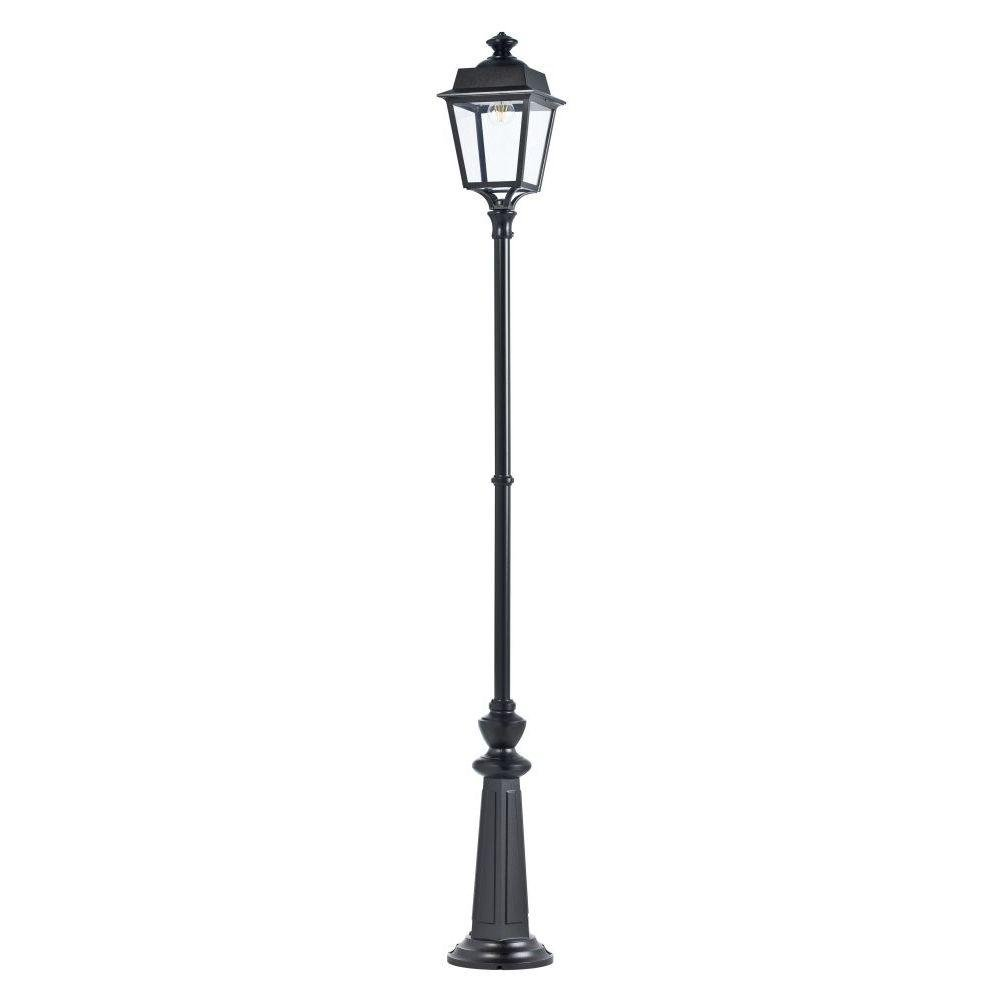 Historic Style Tall Outdoor Floor Lamp | luxury classical style outdoor aluminium floor light lantern | gold green red black white