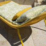Contemporary Rope Garden Sunbed | Modern Outdoor Colourful Furniture | Sunbed For Sale UK | Beige Grey Green Red Yellow