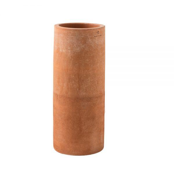 Large Hand-Made Terracotta Planter | exterior terracotta planters | high end tall plant pot