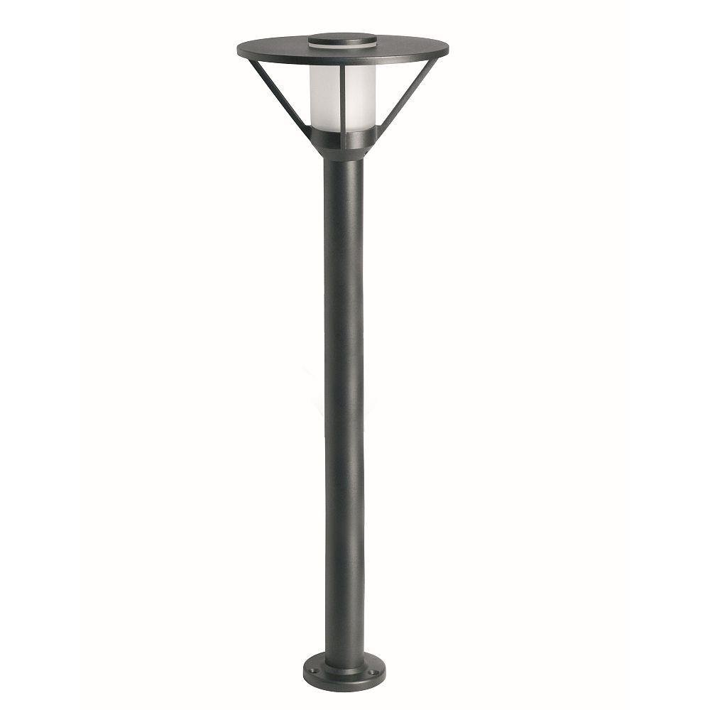 Modern Garden Bollard with Frosted Glass Diffuser | Deluxe Outdoor Floor Lamp in 2 Sizes | Made in France