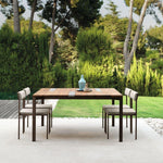 Exterior Metal Dining Chair | Luxury Outdoor Dining Chair | Simple Dining Chair | Luxury Furniture | Luxury Seating | Luxury Quality