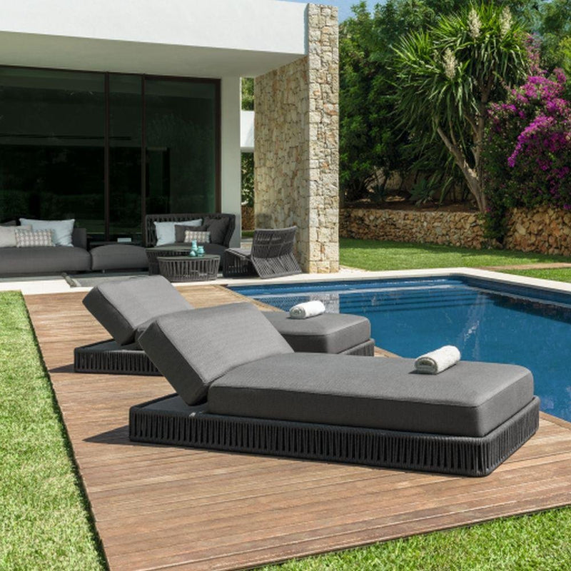 High End Simple Modern Sunbed | Modern Luxury Sunbed | Exterior High End Furniture | Luxury Quality | Luxury Furniture