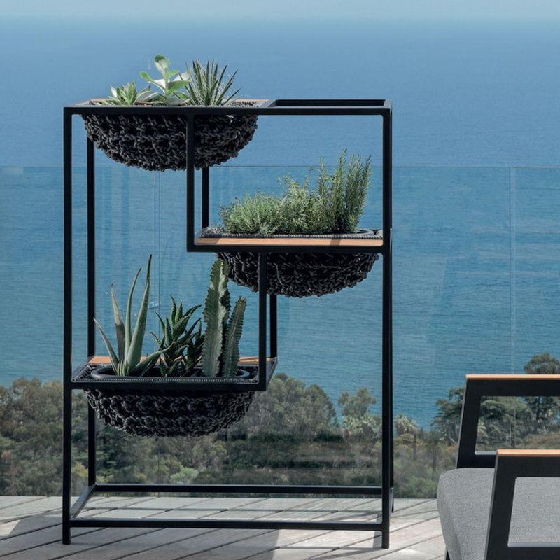 High End Modern Planter | Luxury Modern Garden Plante | Metal Frame Planter | Simple Garden Planter | Luxury Quality