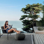 Sleek Outdoor Pouffe | Luxury Outdoor Pouffe | High End Pouffe For The Outdoors | Luxury Quality