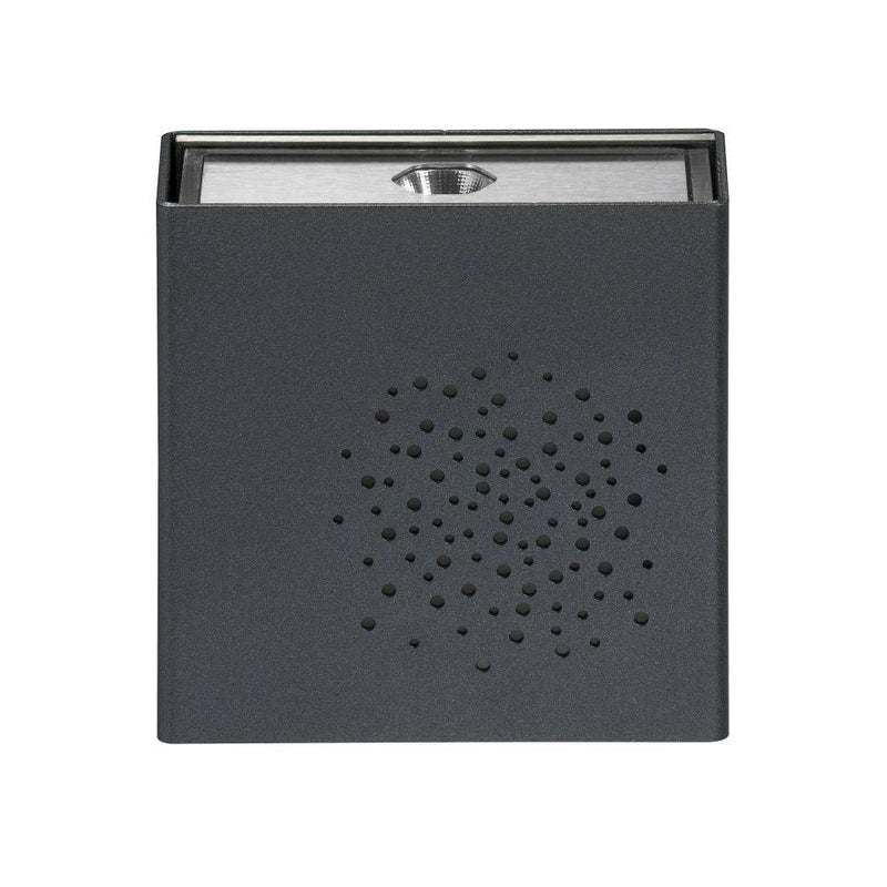 Exterior Square Wall Light | Customisable Modern High End Outdoor Lighting 12.5cm Made in France