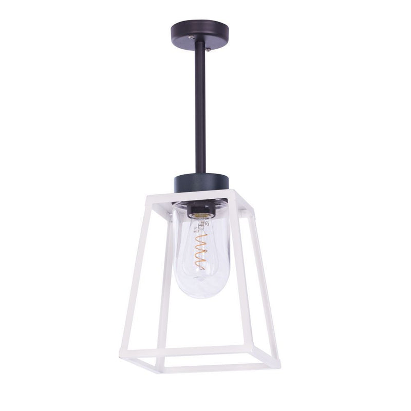 Abstract Exterior Lantern Pendant | Luxury Garden Ceiling Pendant Made in France 60cm