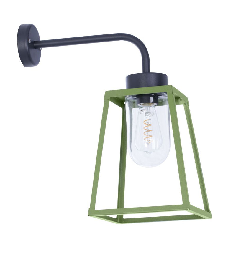 Abstract Outdoor Lantern Wall Light | High End Exterior Minimalist Pendant Made in France 50cm