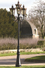 Classical Detailed Lantern Floor Light