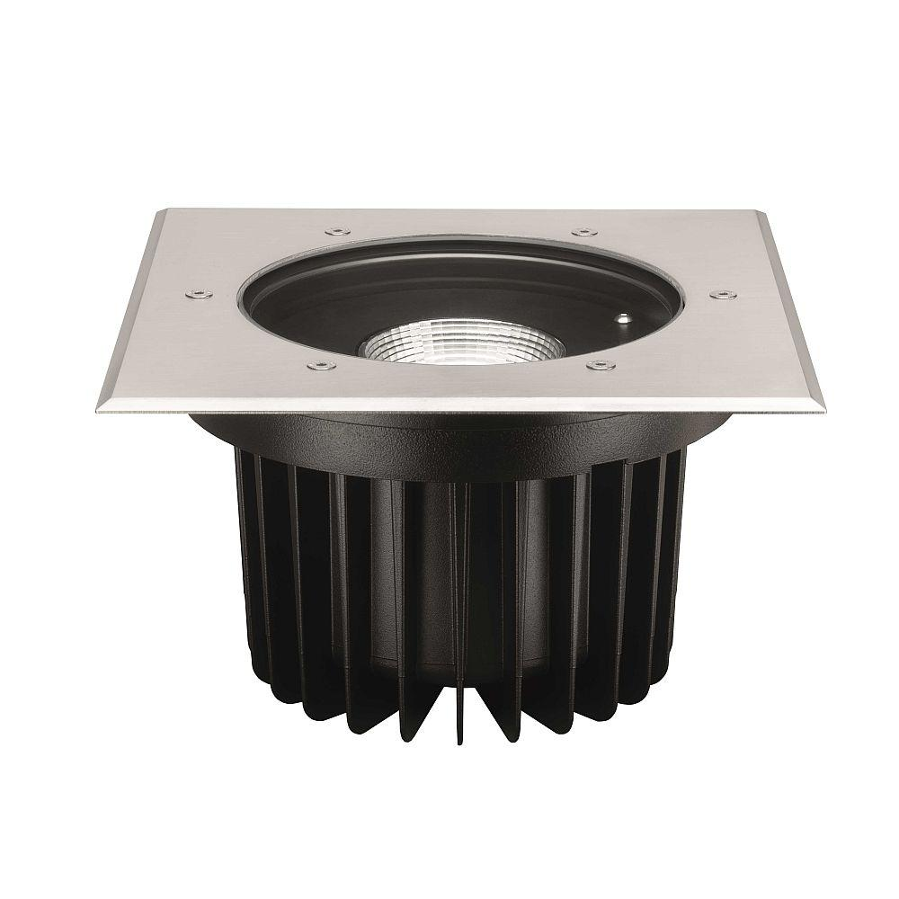 Large Square Drive Over Spotlight | Metal In Ground Spot Light