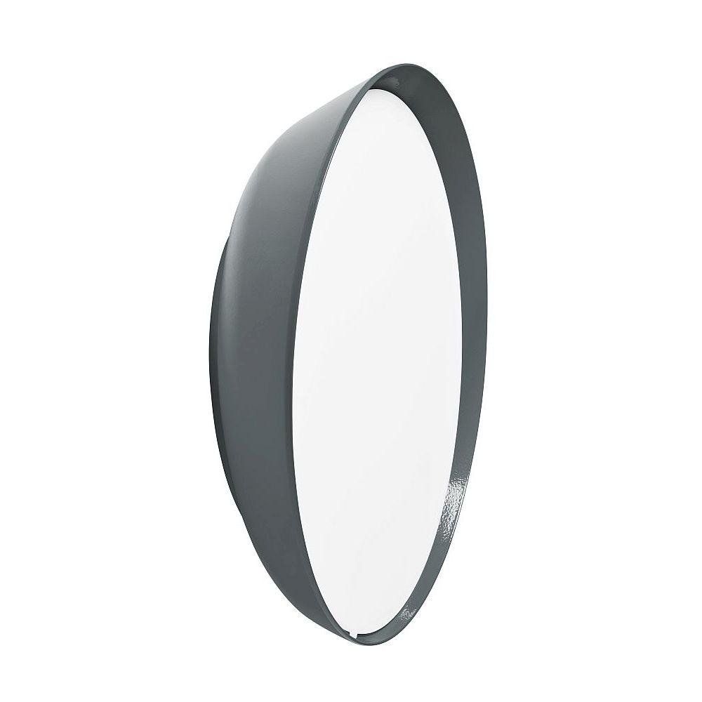 Modern Circular Garden Wall Light | Luxury Contemporary Round Exterior Ceiling Light 35cm | Made in France