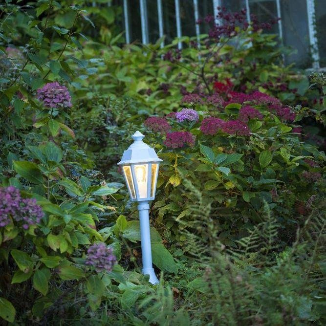 Traditional Lantern Floor Lamp | Luxury class style garden floor light | bollard | lantern | gold green white black brown