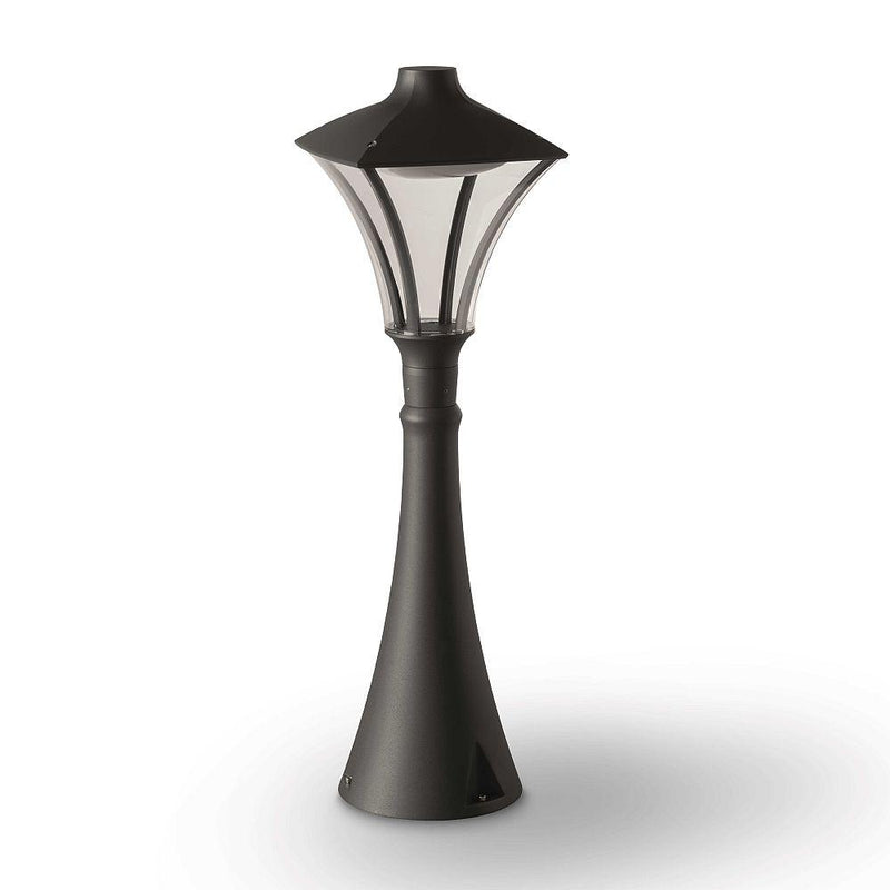 Simple Traditional Lantern Bollard